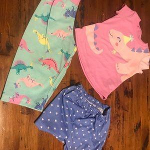 12 Mo Dinosaur Pajamas